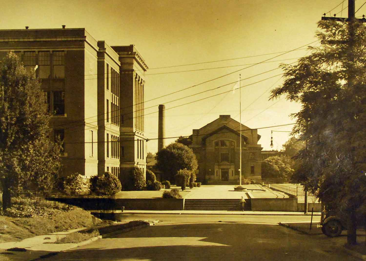 WaHi and long-gone gym