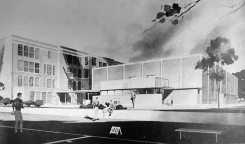 Campus circa 1958
