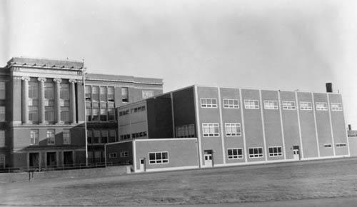 C-wing circa 1961