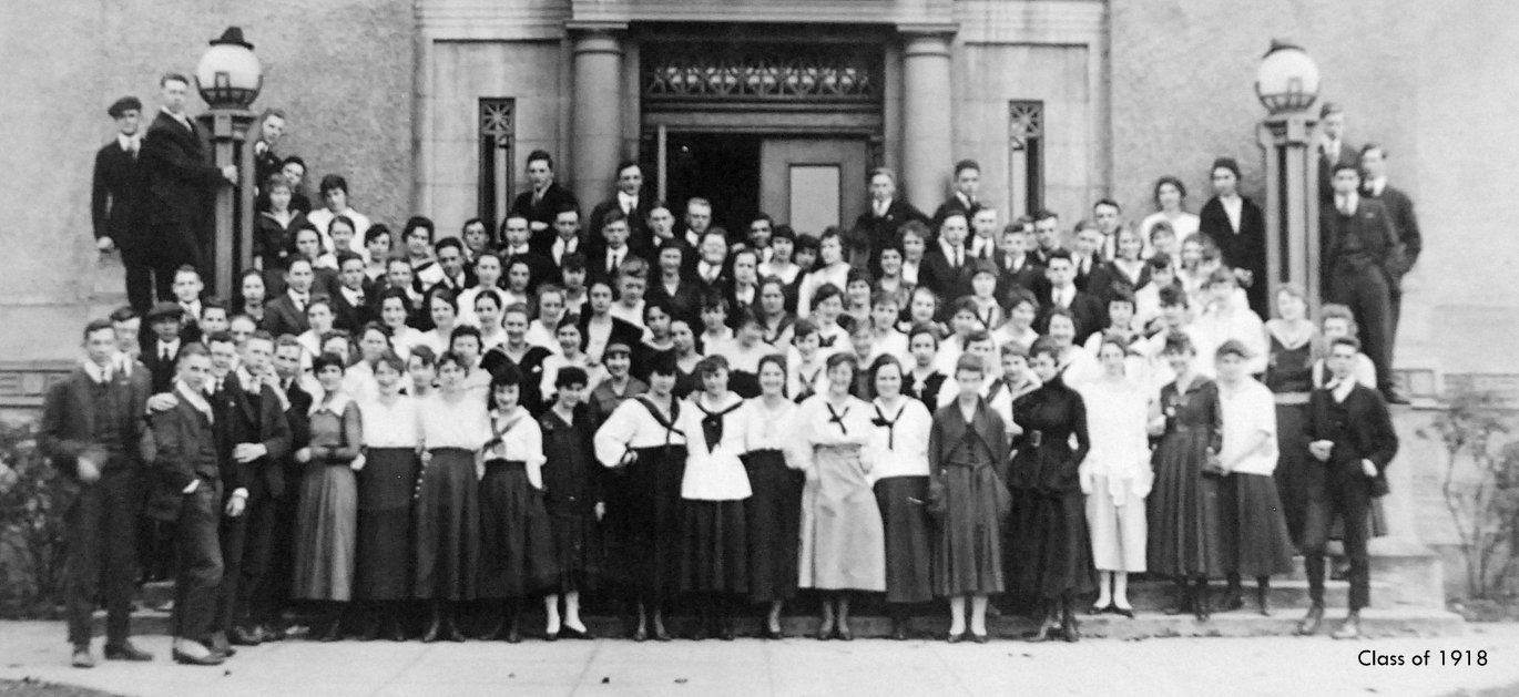 Washington High School Class of 1918 Portland Oregon PDX