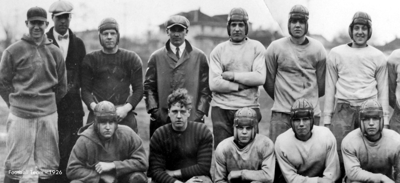 Washington High School Football team historic photo Portland Oregon PDX