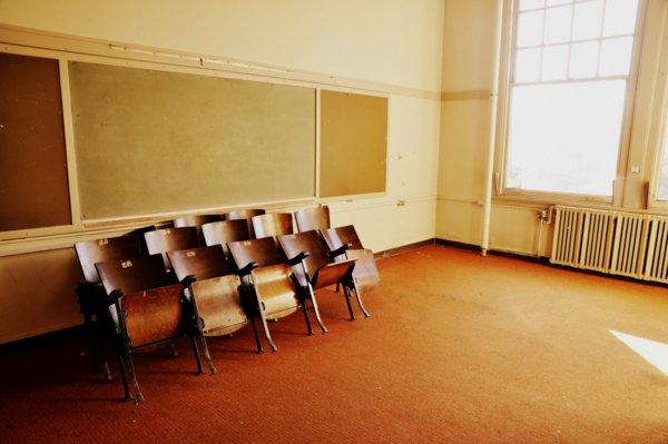 Washington High School Portland Oregon Classroom Before Renovation